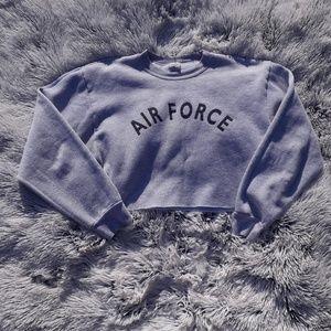 Vintage USAF Crop Top